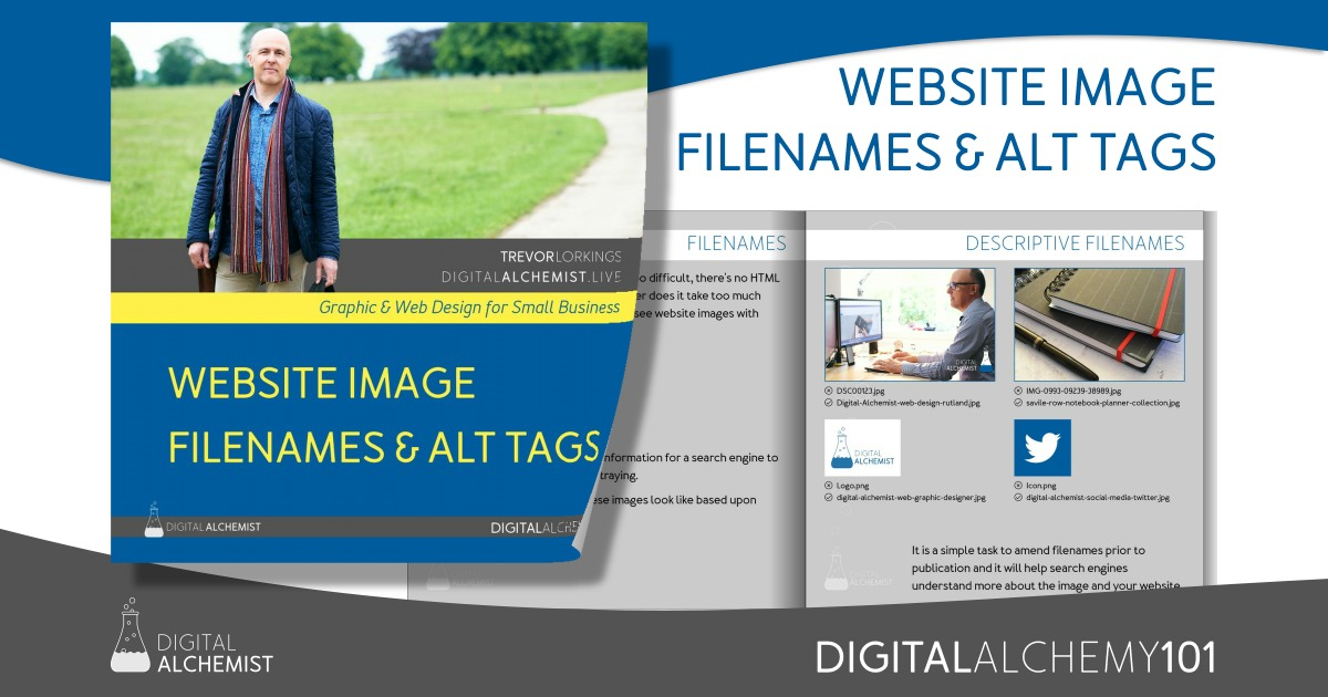 Digital Alchemy 101 - web site image filenames and alt tags