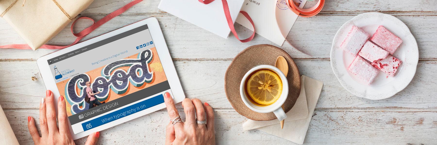Digital Alchemist - Creative Portfolio | The Digital Alchemist | A digital creative for graphic, social & web design and visual media